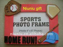 EVA foam sport baseball photo frame
