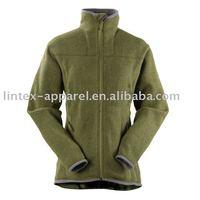 Womens Solid Color Polar Fleece Jacket