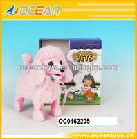 Voice control plush dog toy electronic pet