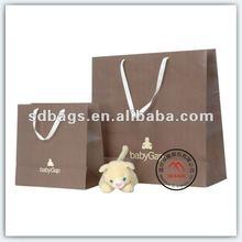 2012 Popular paper shopping bag