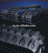 150X72 rubber track