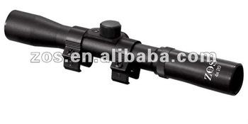 Rifle scope 4x15