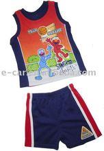 Cotton Child Vest Short
