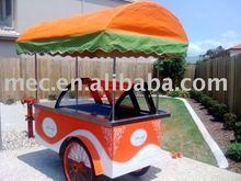 Ice cream display cart; ice cream showcase ;gelato display