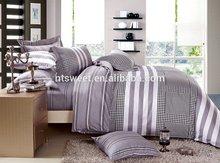 100% cotton bedding set/duvet set/bed linen abstract color