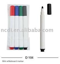 Mini dry erase marker