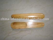 wooden shoe horn , wood shoe horn , long handled shoe horn