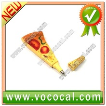 Cute Magnetic Pizza Shape Ballpoint Ball Pen XM