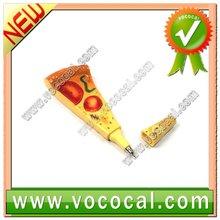 Cute Magnetic Pizza Shape Ballpoint Ball Pen XM