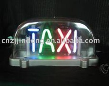 Special design of 12V neon taxi sign ce