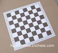 Tablero de ajedrez del doblez de la PU