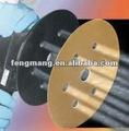 abrasivos disco de velcro