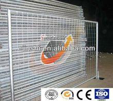 2400x2100mm (WxH) Hot Dipped Galvanized Temporary Fence Panel, Australian Standard