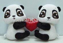 10 inches plush toys Valentine Panda stuffed soft toy