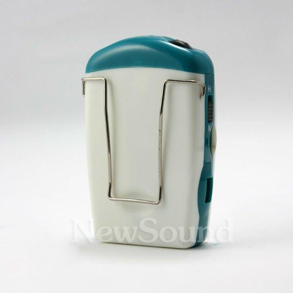 Pocket amplifier hearing aid