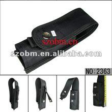 Nylon Holster Belt Velcro Pouch for #008 LED Flashlight Torch