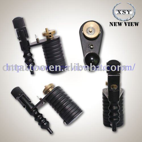 See larger image: New Professional Pure Copper Brass Tattoo Machine Gun