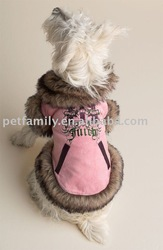 Pet coats dog clothing
