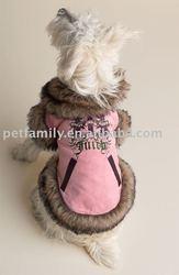 Pet coats dog clothing