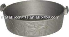 cast iron preseasoned souce pot