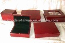 wooden velvet box