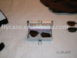 2013 new design Aluminum gift box eyeglass case size 190*80*70MM