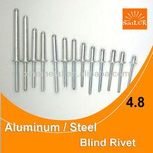 Fastener aluminum blind rivet