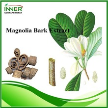SFE-CO2 Magnolia Bark Extract (98% Honokiol,95%Magnolol,Magnolol+Honokiol)