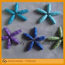 embroidery spun cocoon bobbin thread, yarn