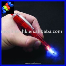 2 white LED Pens smart Light Pen