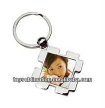 2012 HOT! Metal Sublimation Photo Key Chain