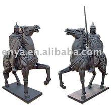 Ancient Warriors Statue, Soldier Sculpture