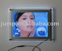 Ultra thin crystal light box