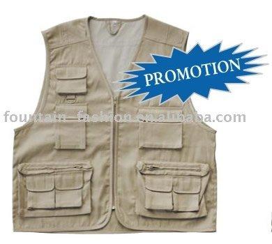 100% Cotton Fishing Vest
