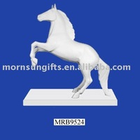 unpainted pony figurine