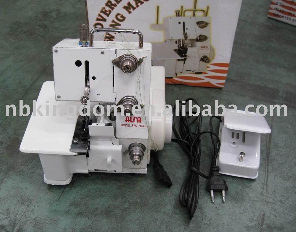 Fn2-7db overlock máquina de costura