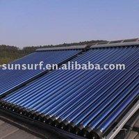 Evacuated tube solar collectors / Heat pipe solar collectors (keymark)