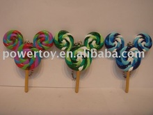 plastic candy hanging ornament plastic candy keychain promotion