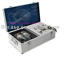 2012 new design Aluminum instrument case with mould for them ,size 400x300x100MM