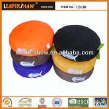 Round shape pet dog cushion for pet bed/bean bag cushion