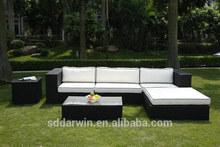 Garden Synthetic Rattan Furniture Wicker Sofa Set SV-2903