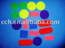 color velcro dots