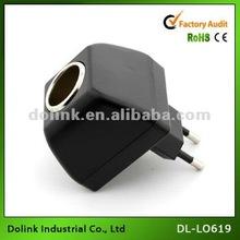 hot products black color input 100v-240v output 12v 5a 230v electronic cigarette socket adaptor