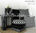 El último diseño sofá de almohadas, patente de cuero cojín decorativo