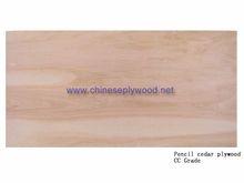 Pencil cedar(CC Grade) chinese plywood furniture