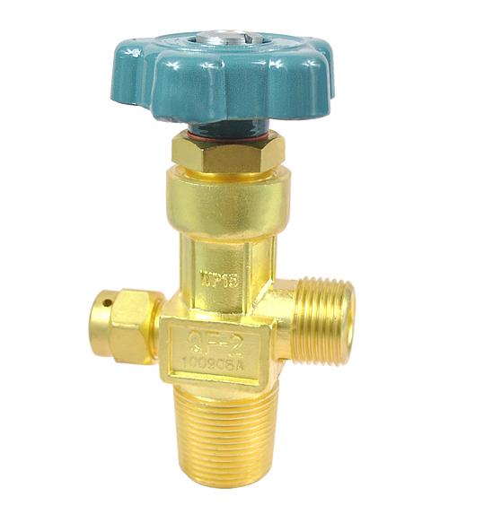 válvula del cilindro de oxígeno