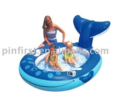 24 Pcs New High Quality large Kids Home Swimming Inflatable Pool