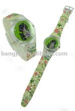 2012 beautiful cheap Fashion Plastic watch