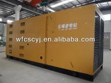 CE approved 10-300KW Ricardo soundproof diesel generator