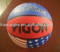 custom colorful Rubber Basketball
